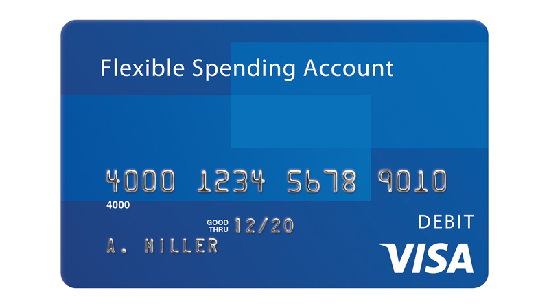 Visa Flexible Spending Account Card