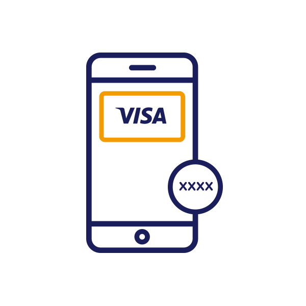 What's the spend limit when I use Visa on my phone? Do I need a pin?